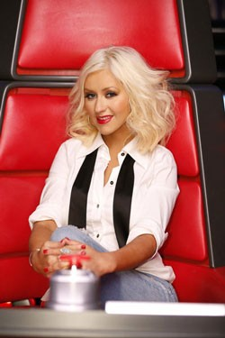 Christina Aguilera The Voice Coach