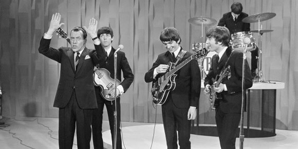 The Beatles perform on 'The Ed Sullivan Show'