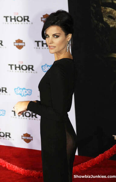 Jaimie Alexander Thor: The Dark World See-Through Dress Photo