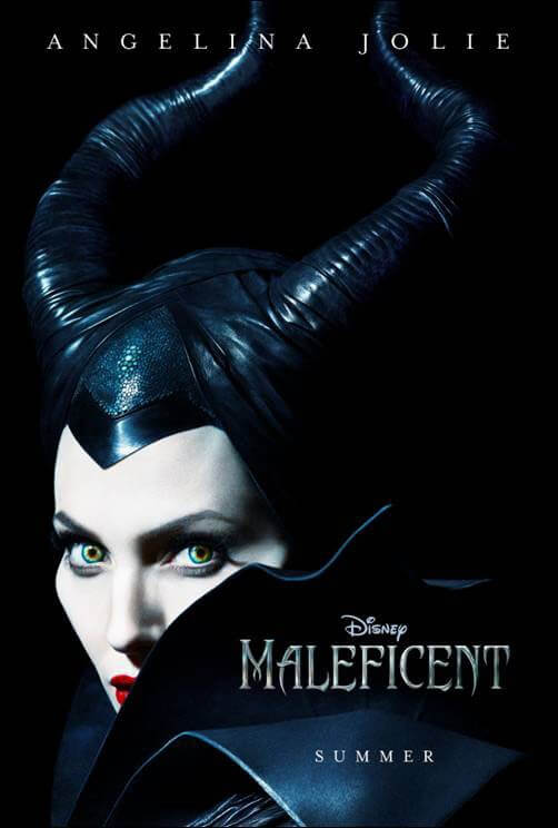 Poster for Maleficent Starring Angelina Jolie