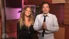 Mariah Carey and Jimmy Fallon Surprise Mariah Fans