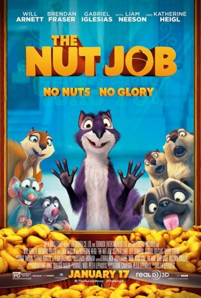 The Nut Job New Poster and Trailer