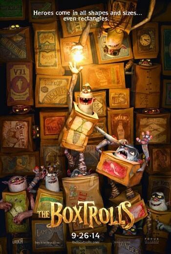 The Boxtrolls official trailer