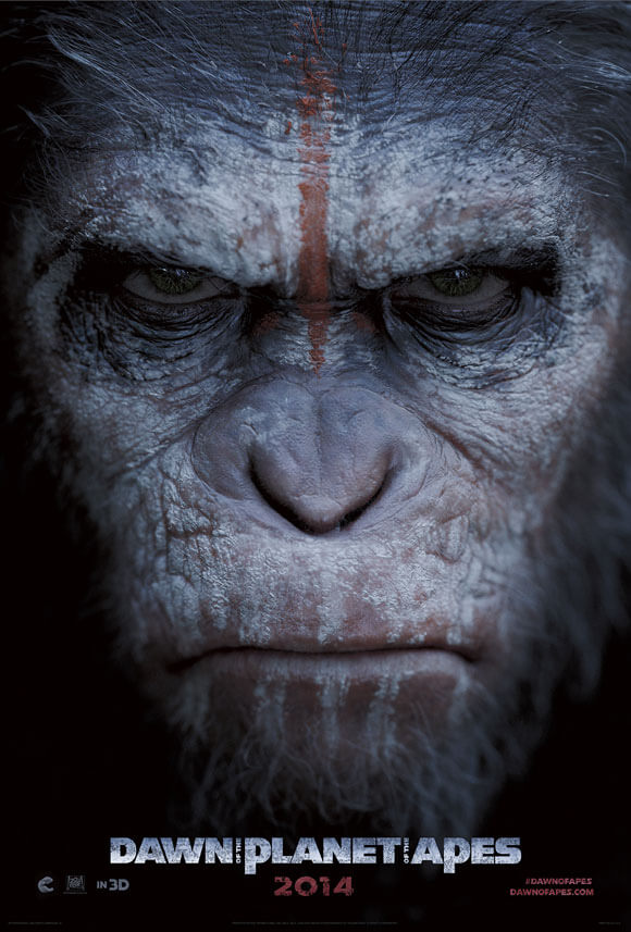 Dawn of the Planet of the Apes Caesar Poster