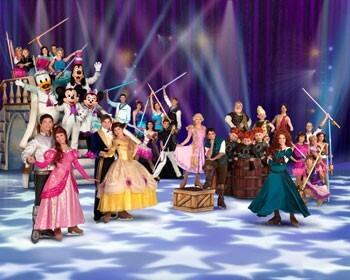 Disney on Ice Rockin Ever After Cast