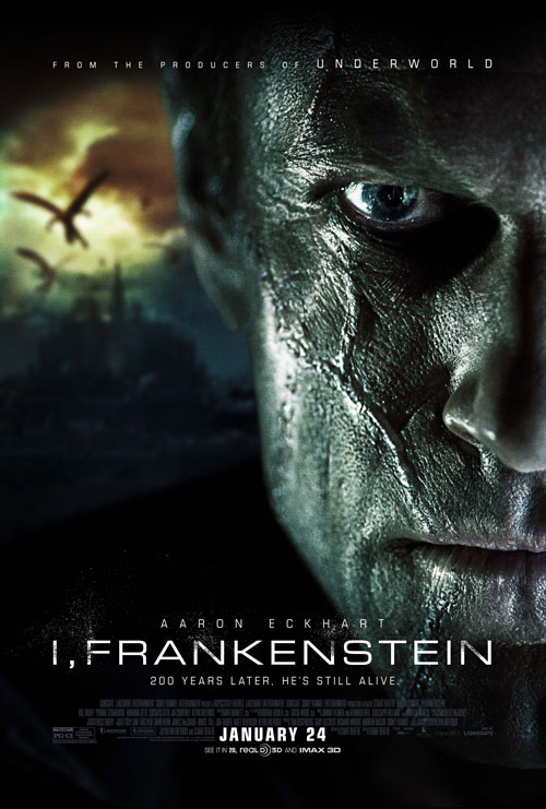 Poster from 'I, Frankenstein'