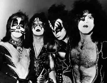 KISS Rock and Roll Hall of Fame 2014 Inductee