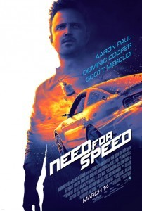 Need for Speed Theatrical Poster
