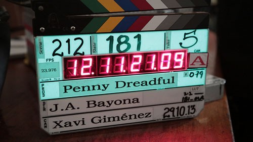 Penny Dreadful Behind the Scenes Production Blog