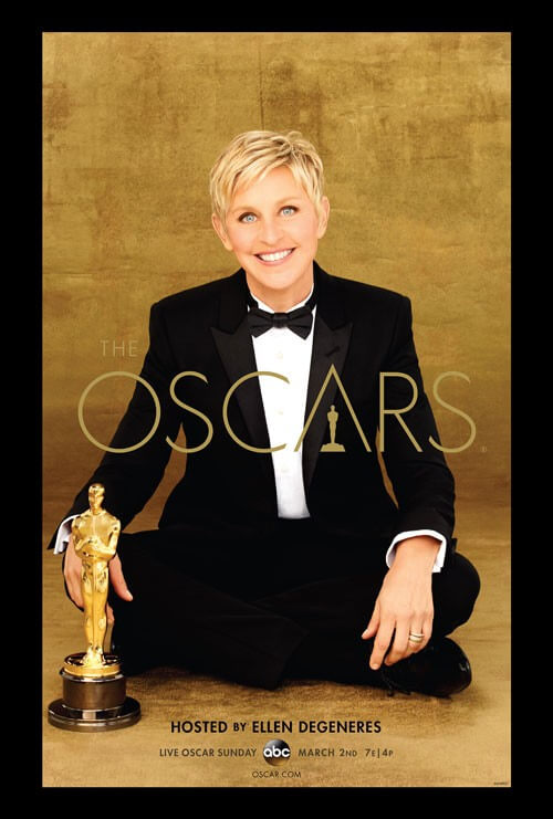 The official 2014 Oscars Poster (Poster credit: ©A.M.P.A.S.®)