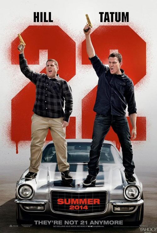 Poster for '22 Jump Street'