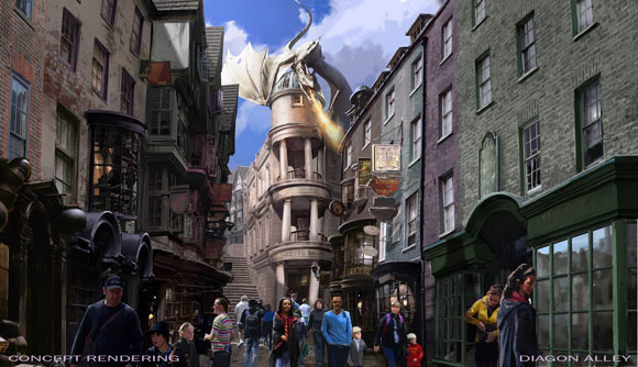 The Wizarding World of Harry Potter Diagon Alley Details