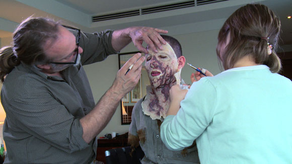 Zombie Prank on Norman Reedus