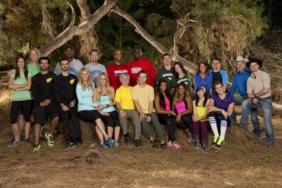 The All-Star teams of 'The Amazing Race' 2014
