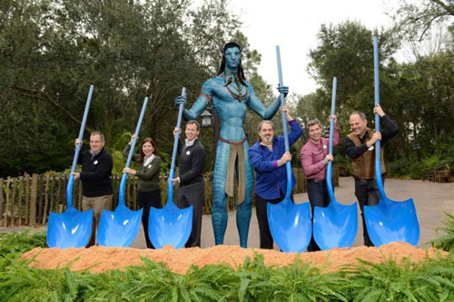 Construction Begins on Avatar Land at Disney Park