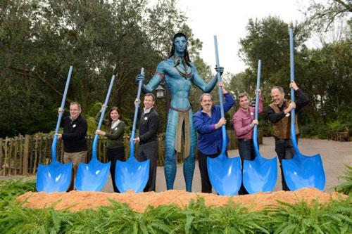 Construction Begins on Avatar Land at Disney Park