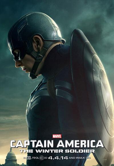 Captain America: The Winter Soldier Chris Evans Poster