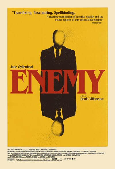 Enemy Movie Poster and Trailer