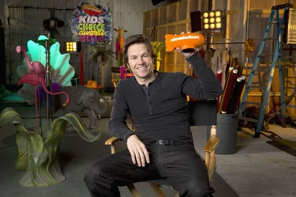 Mark Wahlberg Hosts The Kids' Choice Awards