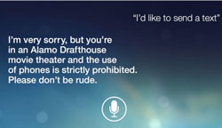 Siri No Texting PSA
