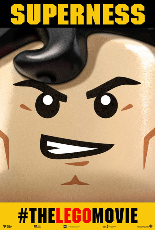 The LEGO Movie Superman Poster