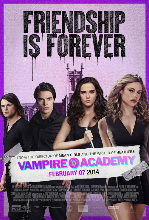 Vampire Academy Final Official Poster