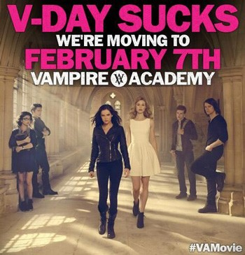 Vampire Academy New Trailer with Lucy Fry and Zoey Deutch