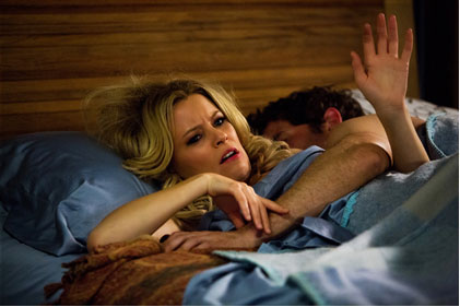 Elizabeth Banks and James Marsden in Walk of Shame Clips