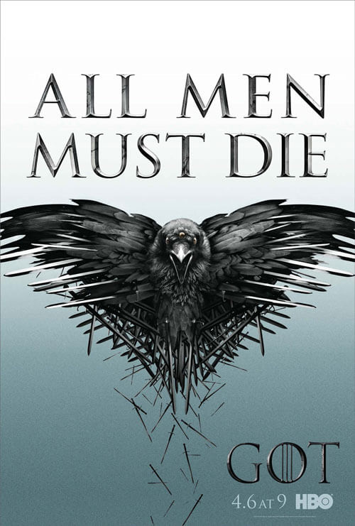 Game of Thrones Season 4 Poster All Men Must Die