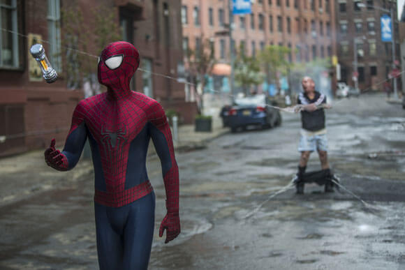 Andrew Garfield in The Amazing Spider-Man 2 Super Bowl Trailer