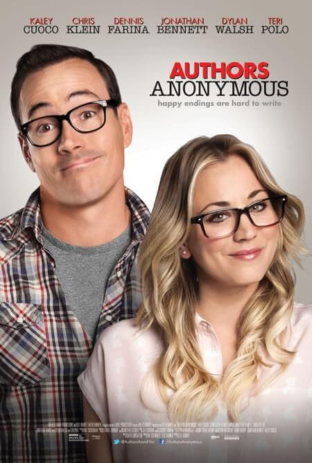Poster and trailer for Authors Anonymous