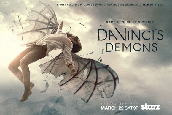 Da Vinci's Demons Season 2 Art