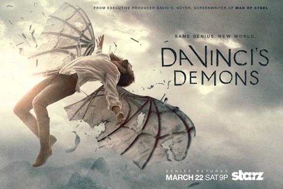 Da Vinci's Demons Season 2 Art