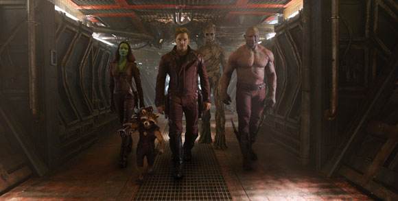 Guardians of the Galaxy Cast Press Conference