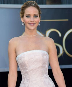 Jennifer Lawrence Presents at the 2014 Oscars