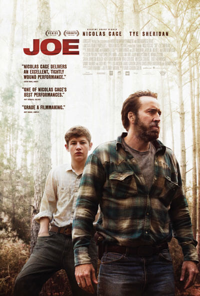 Joe Movie Poster and Trailer