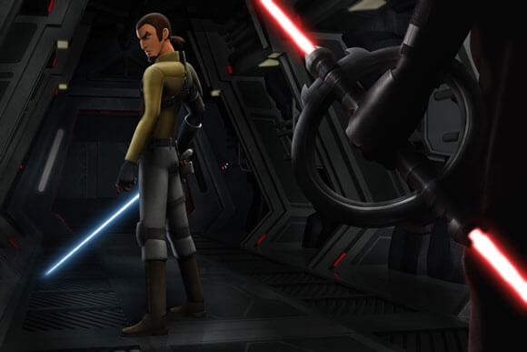 Kanan The Cowboy Jedi in Star Wars Rebels