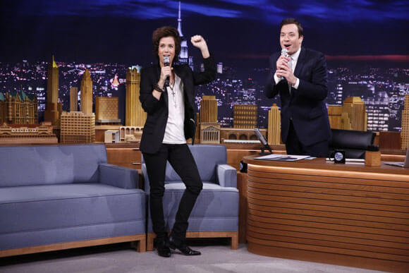Kristen Wiig and Jimmy Fallon on 'The Tonight Show'