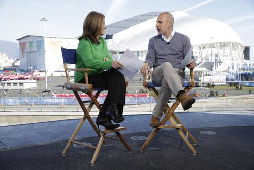 Meredith Vieira Takes Over Olympics Hosting Duties