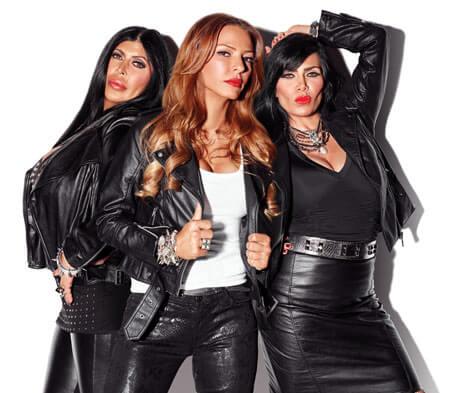 Mob Wives Big Ang, Drita D'Avanzo, Renee Graziano