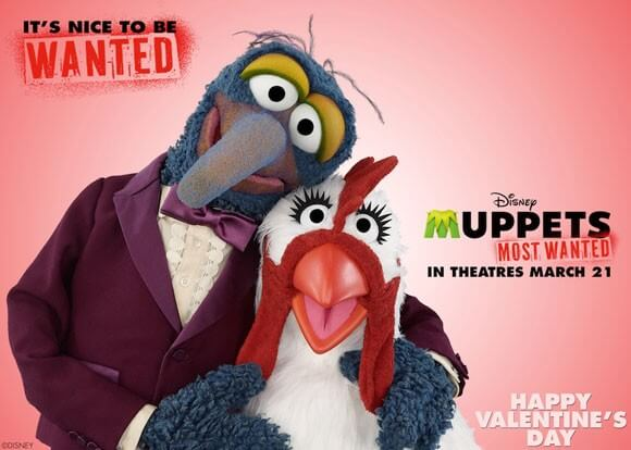 Muppets Most Wanted Valentine's Day Greeting