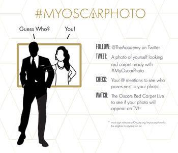 My Oscar Photo Campaign