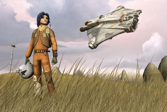 Star Wars Rebels Ezra Character Details