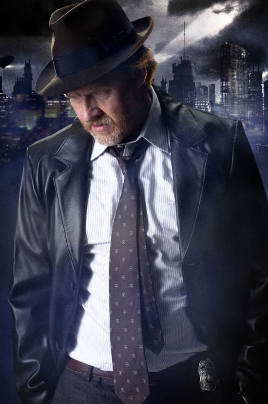 Donal Logue as Harvey Bullock in 'Gotham'