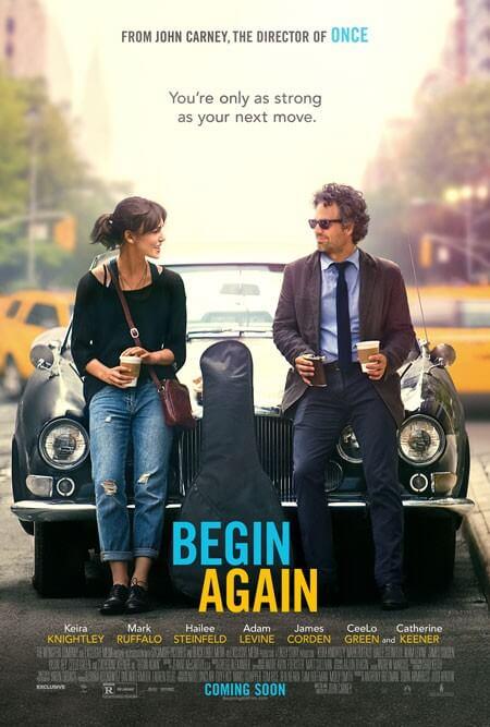 Begin Again Poster and Trailer