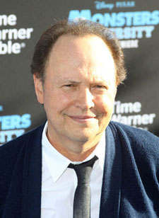 Billy Crystal stars in The Comedians