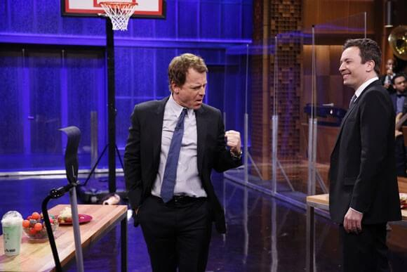 Greg Kinnear and Jimmy Fallon play Object Shootout