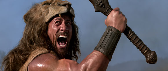 Dwayne Johnson in 'Hercules' poster, photos, trailer