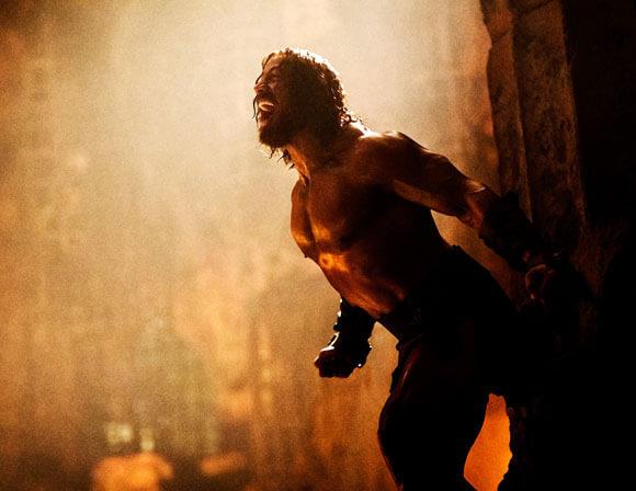 Dwayne Johnson in 'Hercules' photos, poster, trailer
