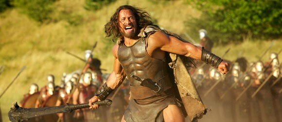 Dwayne Johnson in Hercules Trailer